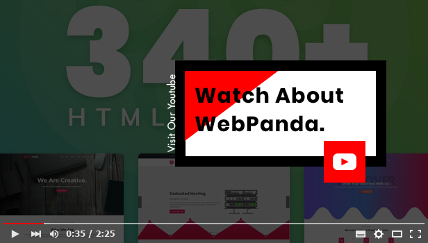 WebPanda Watch Official Video On Youtube