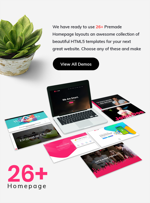 WebPanda Creative, Corporate & Business Friendly Landing Pages, Onepage and User Friendly HTML5 Layout